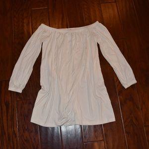 ASOS White off-the -shoulder Dress